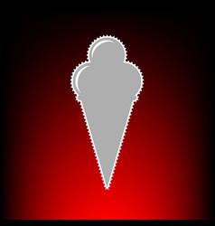 ice cream style vector image