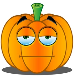 Pumpkin Face 2 vector image