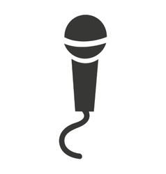 microphone isolated icon design vector image
