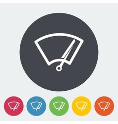 Car icon wiper vector