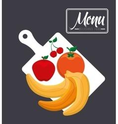 Vegetarian menu vector