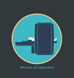 Mri scan and diagnostics vector