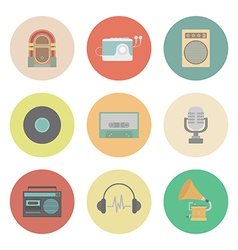 Retromusic vector