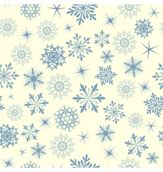 Snowflakes seamless vector