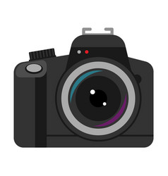 camera professional photography icon vector image