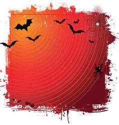 halloween grunge background 0409 vector image