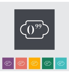 Pricelist vector image vector image