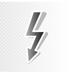 High voltage danger sign  new year vector
