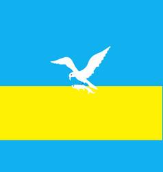 flag of sopot in pomeranian voivodeship vector image