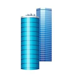 icon skyscraper vector image vector image