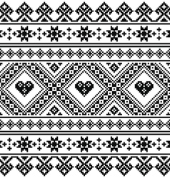 Traditional ukrainian or belarusian folk art vector