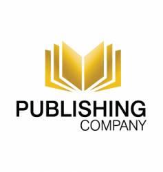 publishing logo vector image