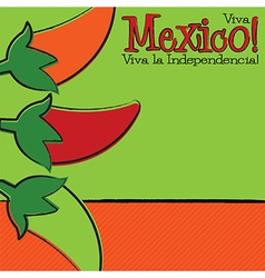 Hand drawn cinco de mayo chili pepper in format vector