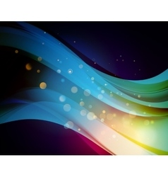 Abstract background with light vector