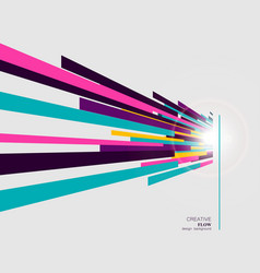Abstract straight lines in modern style vector