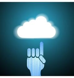 Cloud Idea vector image vector image