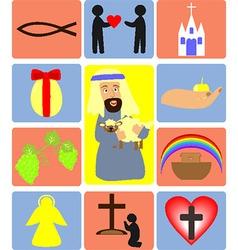 Jesus2 vector image