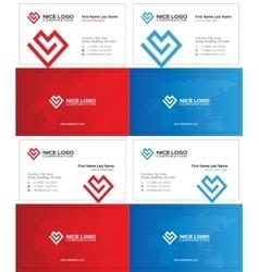 Love business card 1 vector