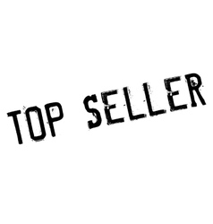 Top seller stamp vector image