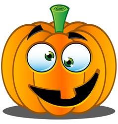Pumpkin Face 4 vector image