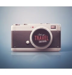 Lets go travel vector