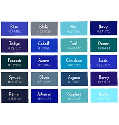 Blue tone color shade background with code vector
