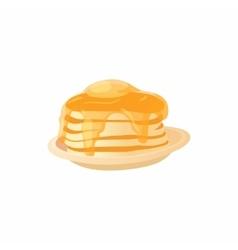 Pancake icon cartoon style vector image