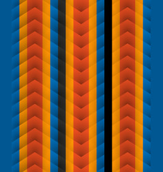 Chevron pattern seamless arrows geometric design vector