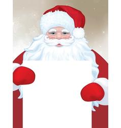 Santa blank vector