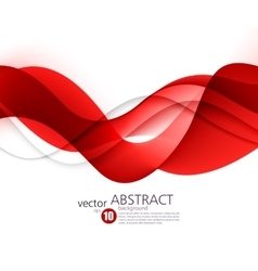 Abstract smooth wave motion vector