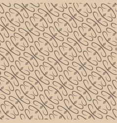 abstract beige plant pattern backdrop vector image vector image