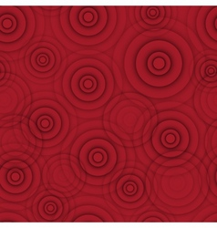 Abstract red circle seamless background vector image vector image