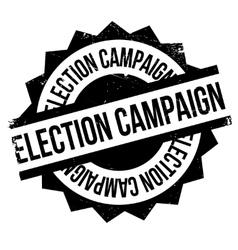 Election campaign rubber stamp vector