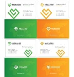 Love business card 2 vector