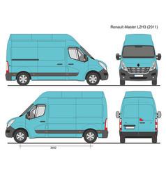 Renault master l2h3 2011 vector
