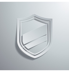 shield vector image