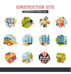 under construction building developer website vector image