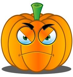 Pumpkin Face 5 vector image