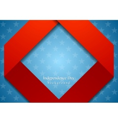 Abstract geometric usa colors background vector
