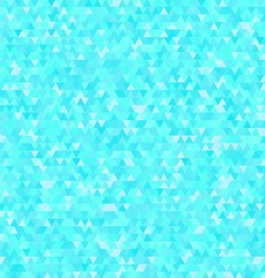 Blue triangle background for your business vector image vector image
