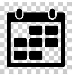 Calendar month icon vector