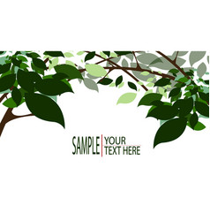 Nature background design for many purpose vector