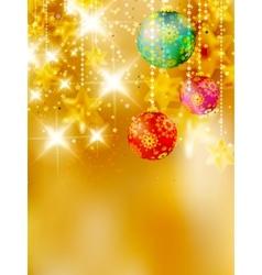 Christmas stars design template vector