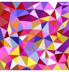 Polygonal triangles background vector