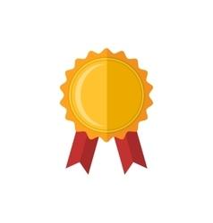 Medal award icon vector
