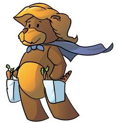 Bear mommy vector