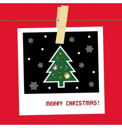 Christmas greeting card23 vector image
