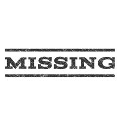 Missing watermark stamp vector