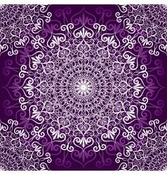 Vintage violet seamless pattern vector image vector image