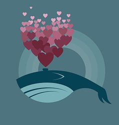 Whale preview vector